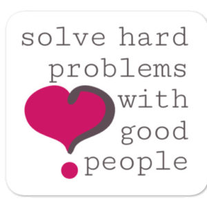 Solve Hard Problems with Good People